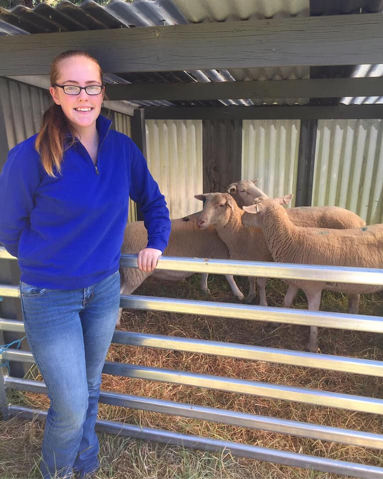 Lucy Cook, Castella White Suffolk stud, is looking forward to the opportunities the youth group will provide.